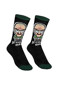 Breaking Bad Mens Socks - Green