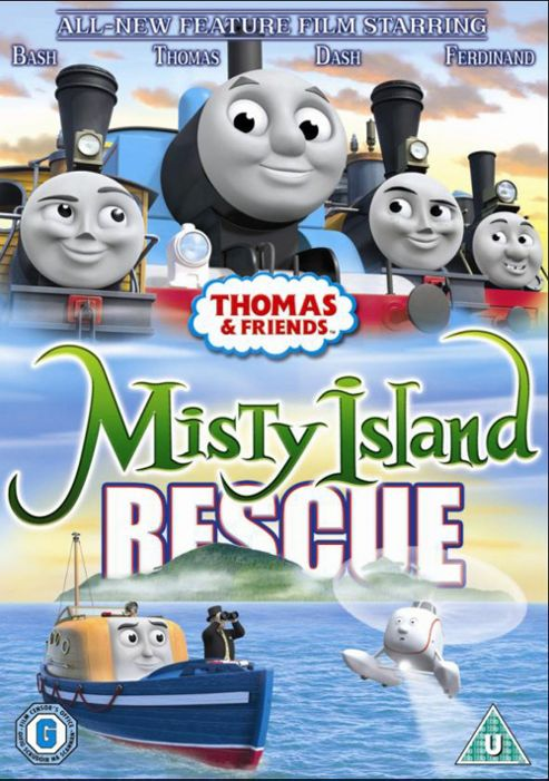 Thomas And Friends - Misty Island Rescue (DVD)