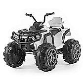 BIG ATV 12v Electric Beach Quad Bike - White
