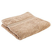Tesco Hygro 100% Cotton Hand Towel, Caramel