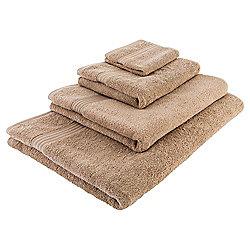 Tesco Hygro 100% Cotton Hand Towel, Caramel