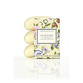 Crabtree & Evelyn Summer Hill Triple Milled Soap 3x100g
