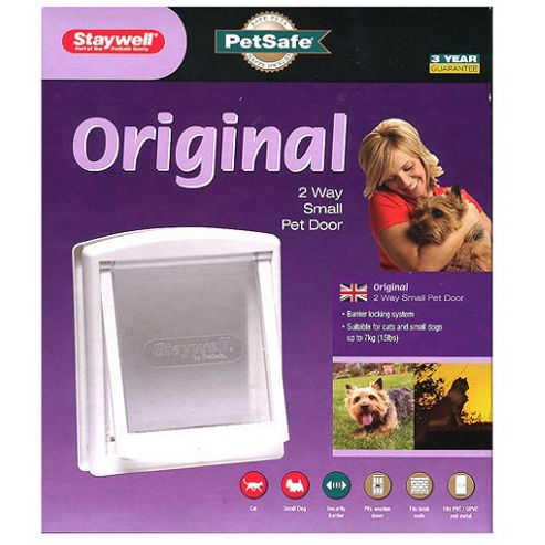 Staywell Pet Door & Lock White No 715 Small