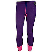 Merino Kids Thermal Pants - Purple