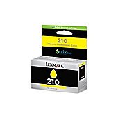 Lexmark 210 Yellow High Yield Return Program Ink Cartridge