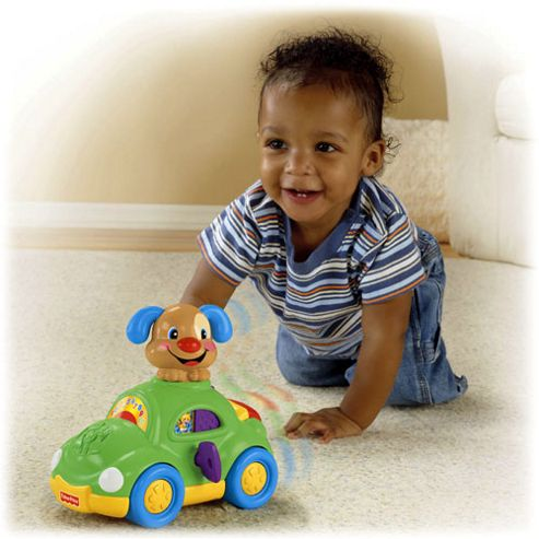 Fisher Price Laugh and Learn Puppy's Learning Car
