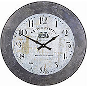 Roger Lascelles Clocks Large Gaston Wall Clock with Slate Effect Border