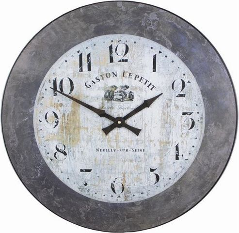 buy roger lascelles clocks large gaston wall clock with. Black Bedroom Furniture Sets. Home Design Ideas