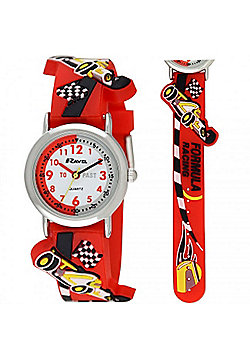 Boys Racing Car Time Teacher Watch
