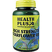 Health Plus Starflower Oil 1000Mg 90 Capsules