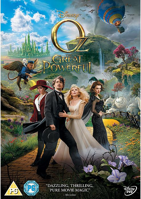 Oz The Great & Powerful (DVD)