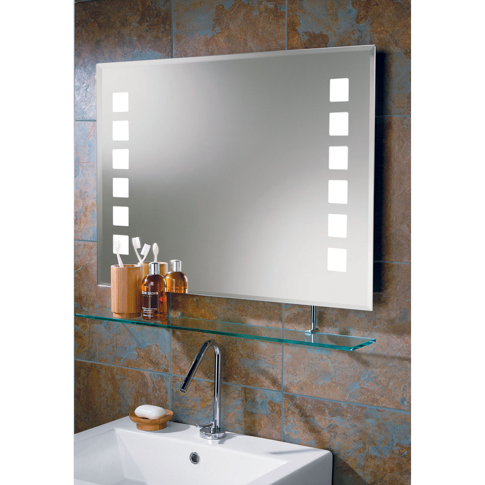 HIB Volta Shaving Light and Mirror at Tesco Direct