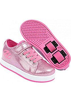 Heelys Spiffy Glitter Kids Heely X2 Shoe - Pink