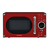 Daewoo KOR6N9RR Digital 800W Microwave Oven 20L - Red