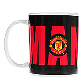 Manchester United FC Bold Wordmark Creamic Drink Coffee Mug Cup