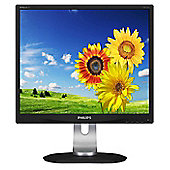 "Philips P-line 19P4QYEB 19"" LED Monitor 1280x1024 Resolution"