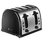 Russell Hobbs Legacy 21303 4 Slice Toaster - Black
