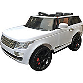 Range Rover Sport Autobiography Style Kids Electric 12v Jeep - White