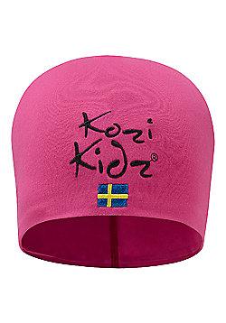 Kozi Kidz Beanie Hat Pink One Size