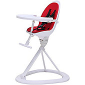 ickle bubba Orb Highchair (White/Red)