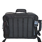 Diaper Dude Convertible Messenger Bag Black/Grey