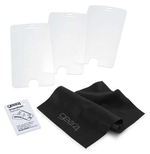 Gear4 Screenshield Screen Protector Triple Pack for Apple iPhone 5 - Clear