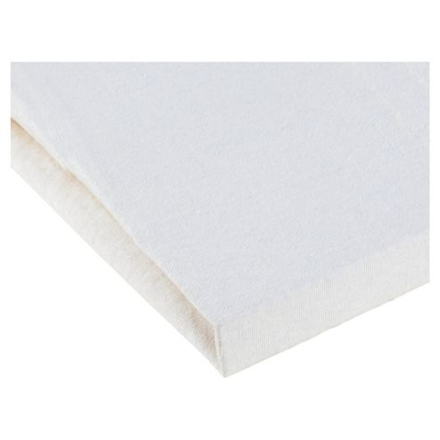 Tesco Loves Baby Moses Jersey Fitted sheet 2 pack - cream