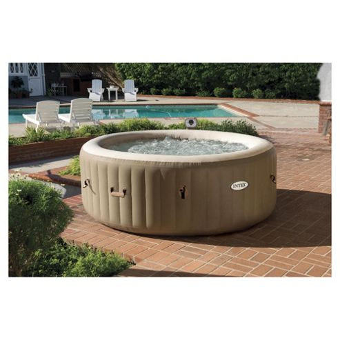 buy intex purespa 6 person bubble round hot tub spa from our hot tubs spas range tesco. Black Bedroom Furniture Sets. Home Design Ideas