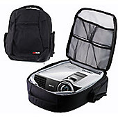 Navitech Universal Protective Portable Projector Carrying Case and Travel Bag For The BenQ W1070