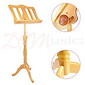 Baroque Style Maple Music Stand