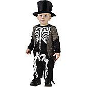 Toddler Happy Skeleton Halloween Costume