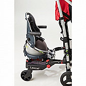 Buggypod Perle Clip On Board & Booster Seat (Grey)