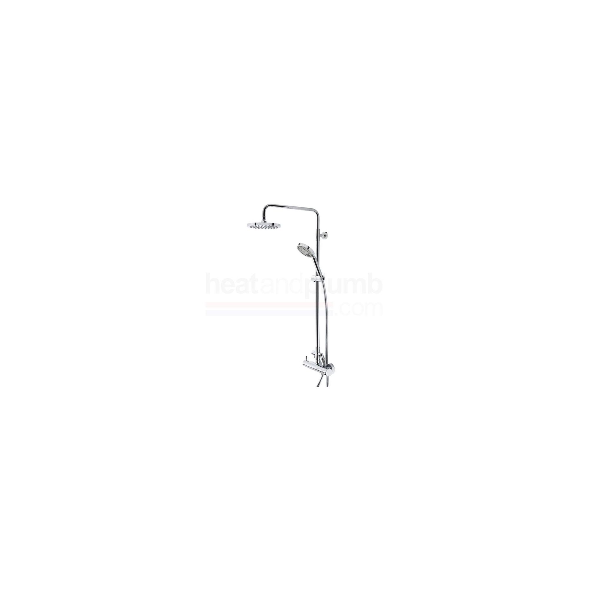 Tavistock Kinetic Thermostatic Bar Shower Valve with Round Shower Head & Multi Function Handset at Tesco Direct