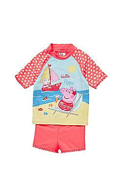 Peppa Pig UPF 50+ Surf Suit - Pink