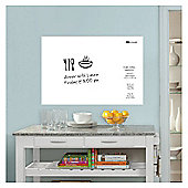 Wallpops Laminated White Message Board with Dry Erase with Pen