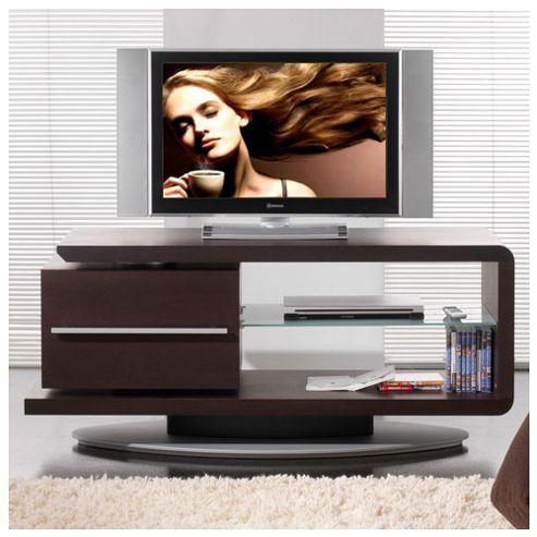 Triskom TV Stand - Black Gloss
