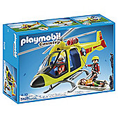 Playmobil Country Mountain Rescue Helicopter 5428