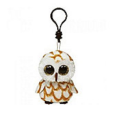 Ty Beanie Boos Swoops the Owl Key Clip