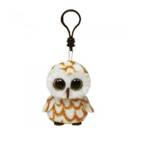 TY Beanie Boo Swoops the Owl Key Clip
