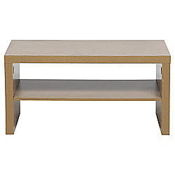 Campus Coffee Table With Shelf 50 X 90cm Oak
