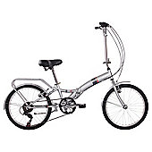 "Activ FOLD-S6 20"" Folding Bike, Designed by Raleigh"