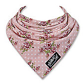 Vintage Rose Skibz - The original bandana style dribble bib