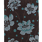 Oriental Carpets & Rugs Hong Kong Brown/Blue Tufted Rug - Runner 225cm L x 65cm W