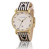 Lulu Guinness Glamour Ladies Date Display Watch - LG20008S02X
