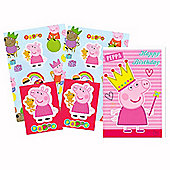 """Peppa Pig Wrapping Paper, Birthday Card and Gift Tags Pack"""