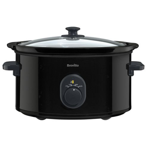 Buy Breville Slow Cooker, vTP105, 4.5L - Black from our Slow Cookers range - Tesco