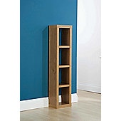 Elements Chicago Utah CD / DVD Storage Rack - Oak