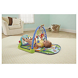 Fisher-Price Kick & Play Piano Baby Gym, Blue