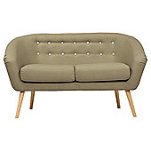 Jemima Tub Sofa Olive/Grey Button