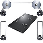 "Duronic TVB1103M Ultra Slim Led TV Mount - 23""-42"""